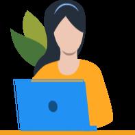 Mujer con computadora-1